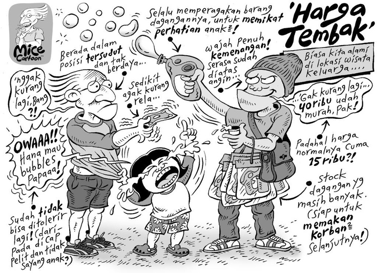 Mice Cartoon: Harga Tembak (Kompas, 05.05.2013)