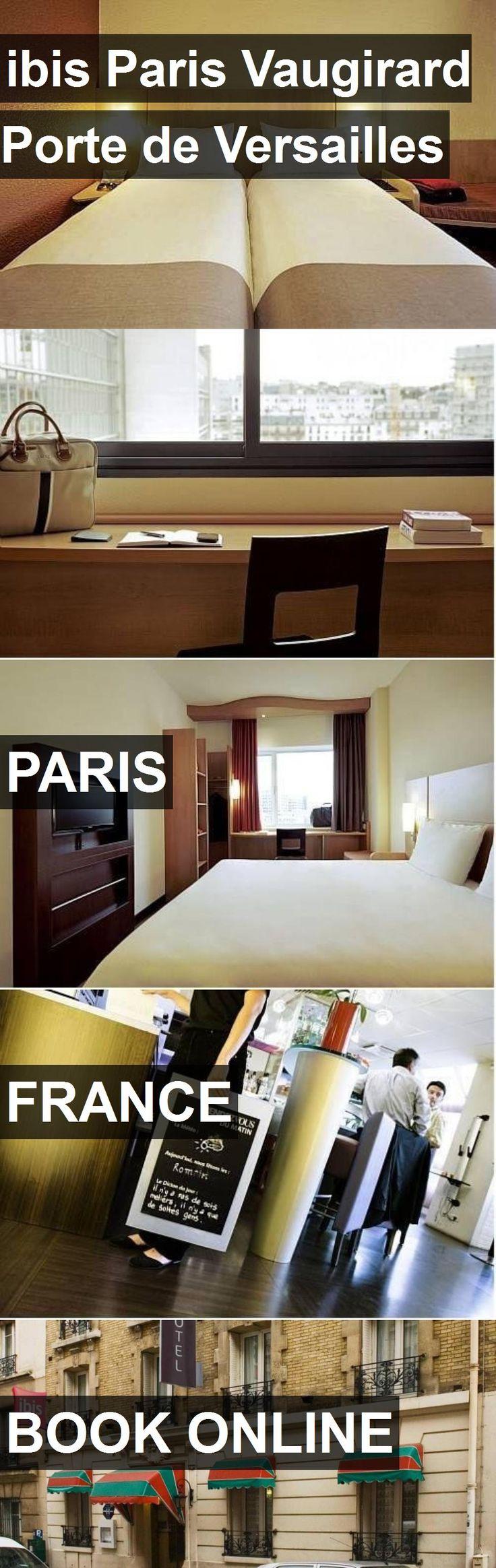 Hotel ibis Paris Vaugirard Porte de Versailles in Paris, France. For more information, photos, reviews and best prices please follow the link. #France #Paris #ibisParisVaugirardPortedeVersailles #hotel #travel #vacation