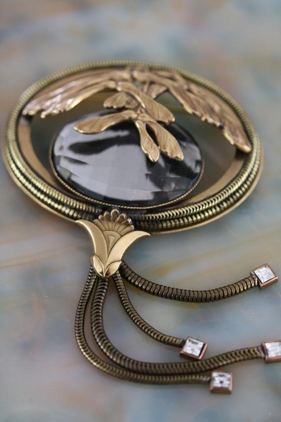 Best Ever Vintage Bulatti Art Nouveau Brooch