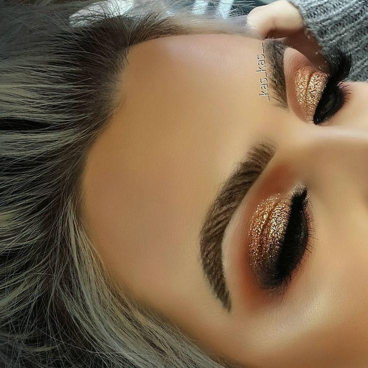 Makeup by _kas_kas__ brows:Anastasia Beverly Hills Dipbrow Pomade Waterproof Brow Color. Afflink. #makeup #beauty #anastasiabeverlyhills