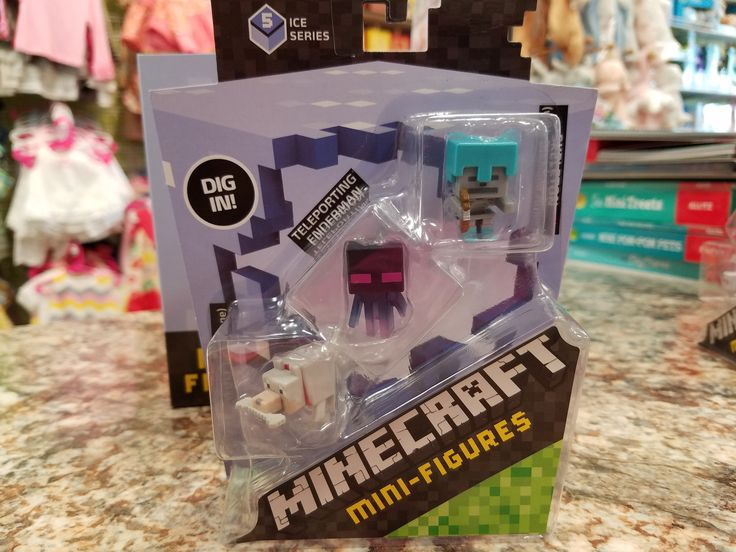 - Now you can explore the world of Minecraft like never before! - Collect your favorite characters from the world of Minecraft! - Figures feature the game's signature appearance - Includes 3 mini-figu