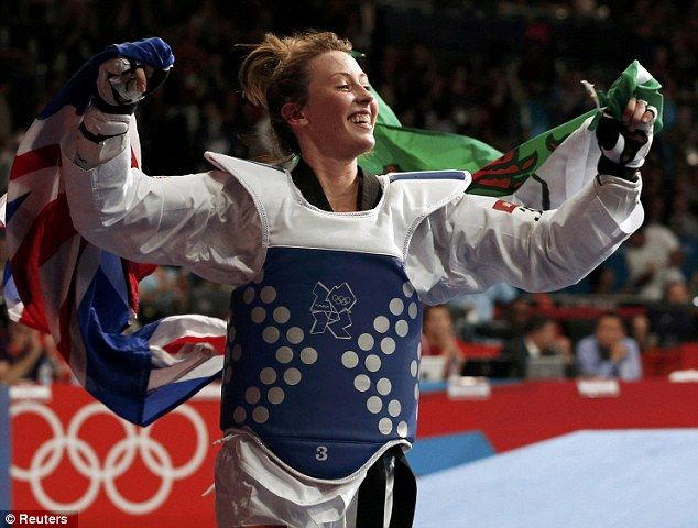 Jade Jones became Britain's youngest Olympic champion at London 2012 as the 19-year-old nicknamed the 'Head Hunter' claimed taekwondo gold