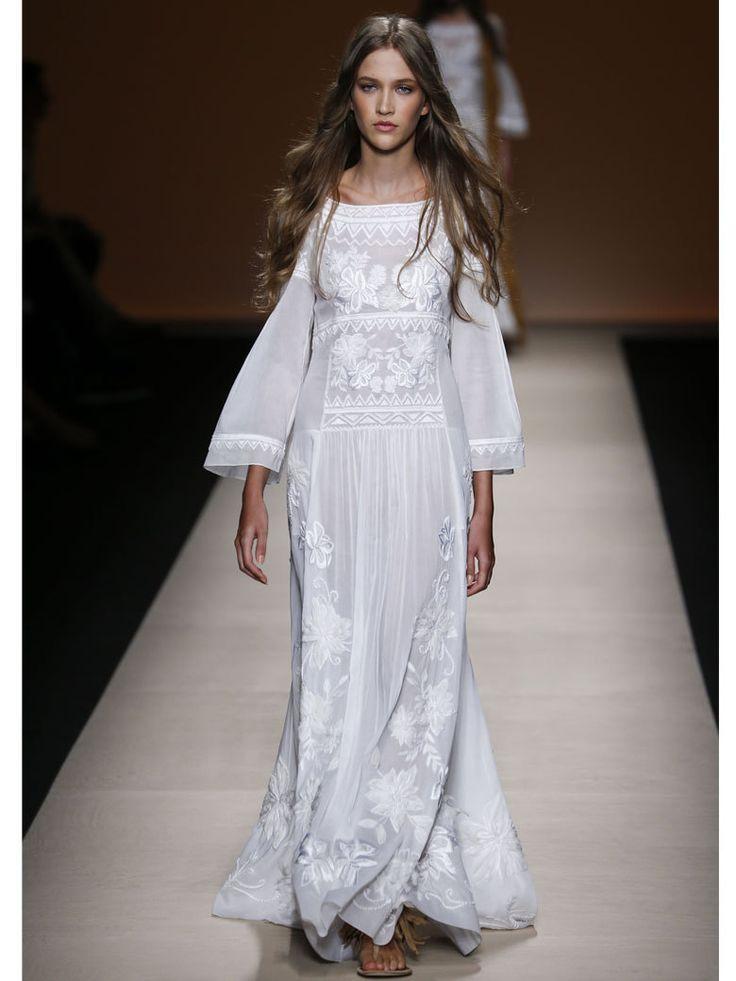 La robe bohème Alberta Ferretti