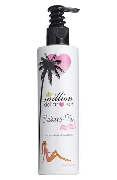 million dollar tan Cabana Tan Extreme available at #Nordstrom