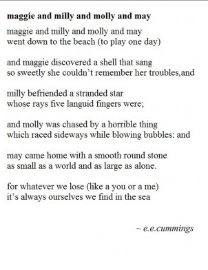 """analysis of e e cummings poems Are you looking for an analysis of e e cummings' """"since feeling is first"""" here is the most detailed analysis of the poem available anywhere."""
