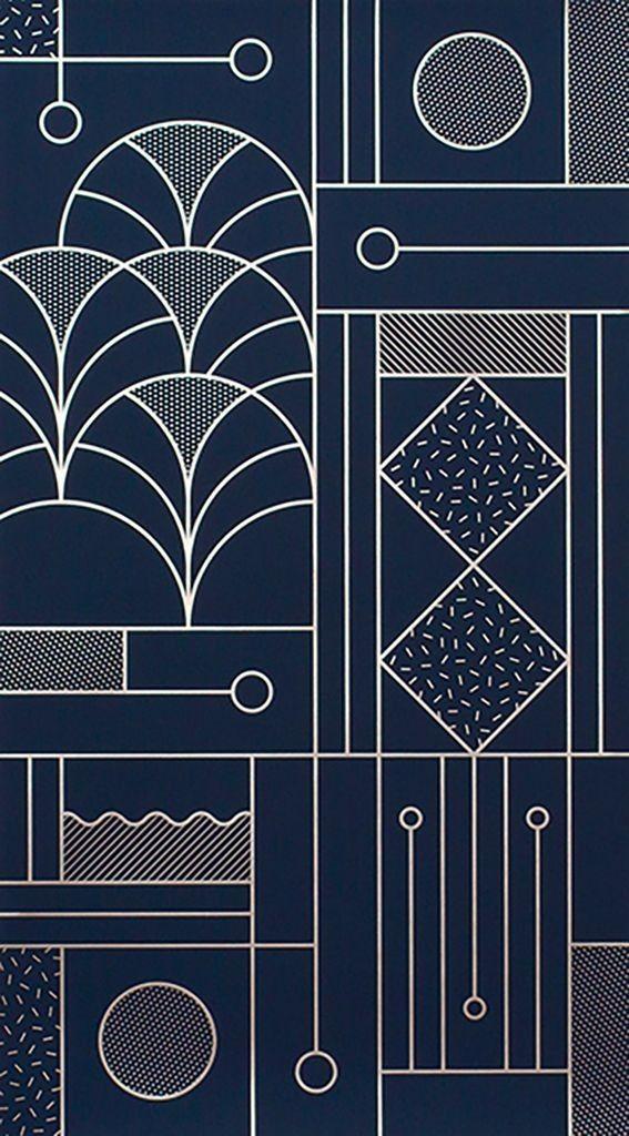 Art Deco Inspiration Artdeco Geometric Lineart Linedrawing