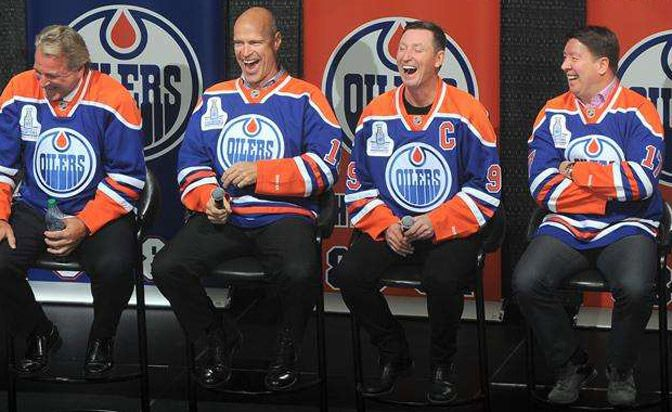 Wayne Gretzky and his former Edmonton Oilers teammates will get together to mark the 30th anniversary of their 1984 Stanley Cup championship.