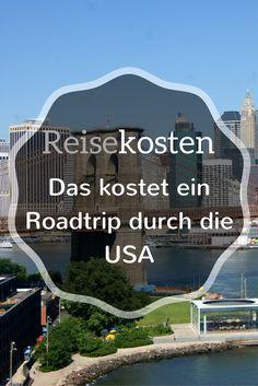 Du planst einen Roadtrip durch die USA und fragst dich, wie viele Kosten auf dich zukommen? Ich zeige dir, wie viel Geld wir für unsere fast dreiwöchige Reise ausgegeben haben. New York, San Francisco, Las Vegas und die Nationalparks - das kostet deine Reise durch die USA.