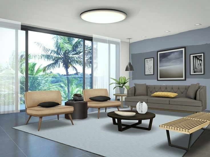 Cozy Apartment Living Room Interior Furniture And Decorating Awesome Design Ideas By Designer