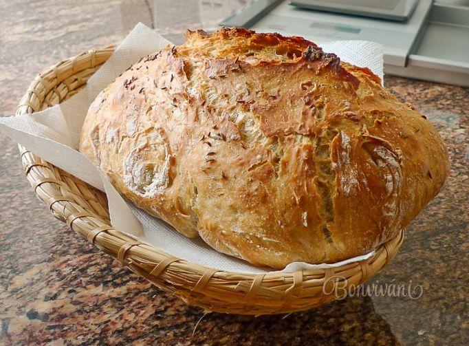 Chleba bez hnětení • recept • bonvivani.sk