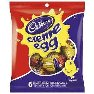 Cadbury crème eggs from coles.  #easter #easter2016 #eastereggs #gardencityperth