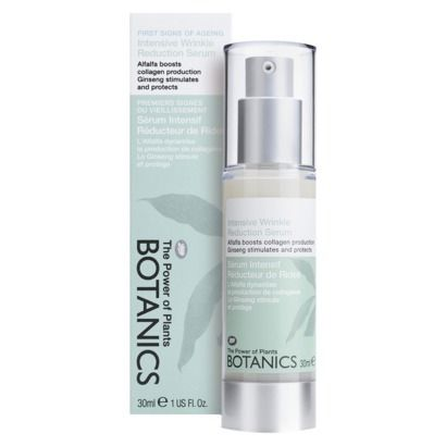 Boots Botanics Intensive Wrinkle Reduction Serum. Supposed to minimize fine lines around the eyes.