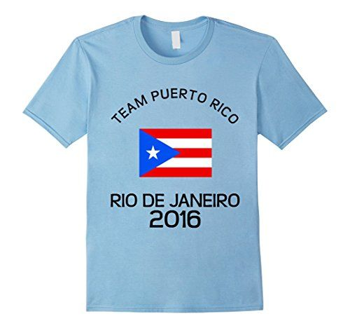 Men's PUERTO RICO Team 2016 BRAZIL TShirt 2XL Baby Blue P...   https://www.amazon.com/dp/B01LBSFRTS  puerto rico Team 2016 T-Shirt. rican EX-PATS. Wear this Tee in support of your favorite team at the Games THIS SUMMER. Support your rican Mens and Womens athletic teams and show your country pride! puerto rico Olympic Team rican Olympics