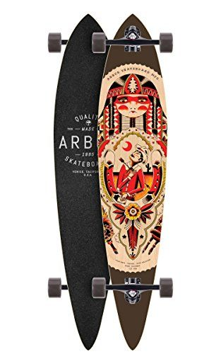 Arbor Timeless GT Longboard Complete Skateboards 46 Black >>> Check this awesome product by going to the link at the image.