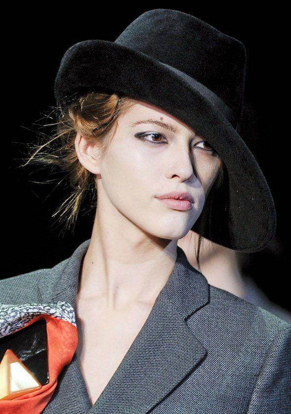 f0d49d69f Black wide brimmed fur felt fedora hat for women - #black #Brimmed ...