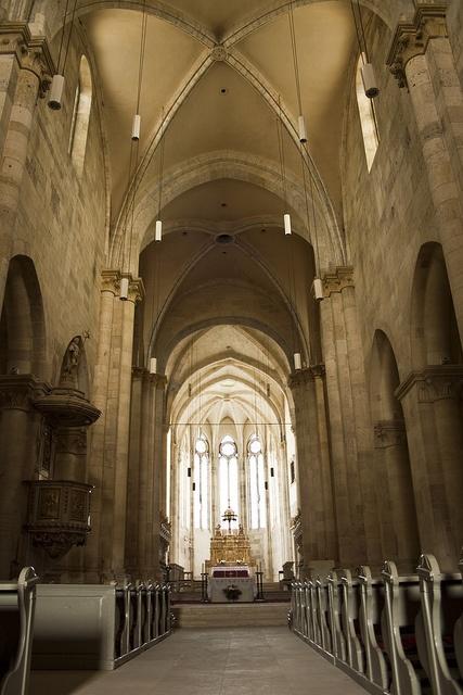 Alba Iulia Catedrala Catolica interior