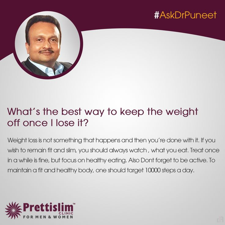 Wondering about Maintaining Health or Weight Loss? Send in your queries with #AskDrPuneet, and our MD will answer a new question every Thursday! 8080812201 | http://bit.ly/Call-now #prettislim #fattofit
