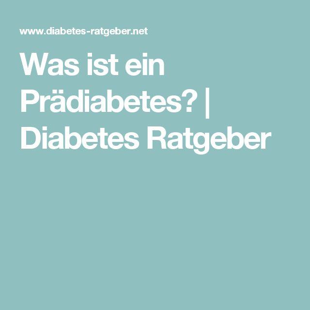 Was ist ein Prädiabetes? | Diabetes Ratgeber