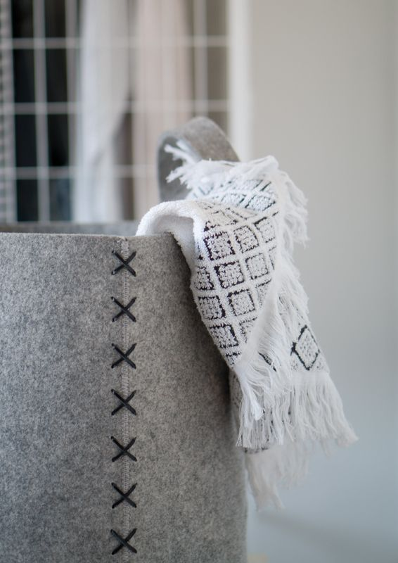 A.U Maison AW16. #aumaison #interior #homedecor #styling #danishdesign #bathroom #laundrybasket
