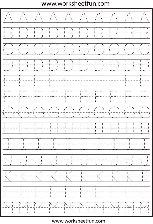 Uncategorized Letter Tracing Worksheets 25 best ideas about letter tracing worksheets on pinterest tracing