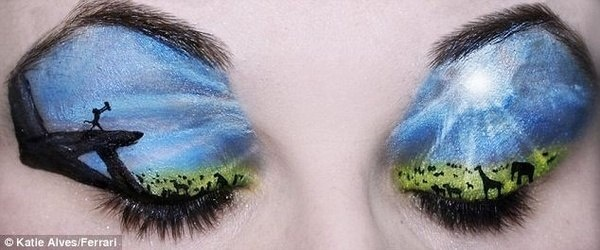 I would love to try to do something like this: Lionking, Make Up, Eye Makeup, Eyeshadow, King Eye, Art, Disney, The Lion King