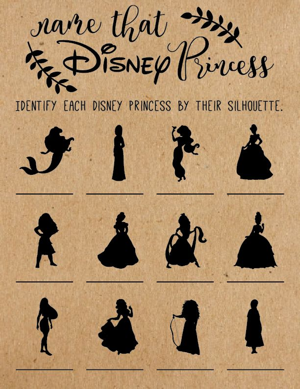 Disney games. Disney bridal shower games. Disney baby shower games. wedding shower. bridal shower ideas. disney wedding.