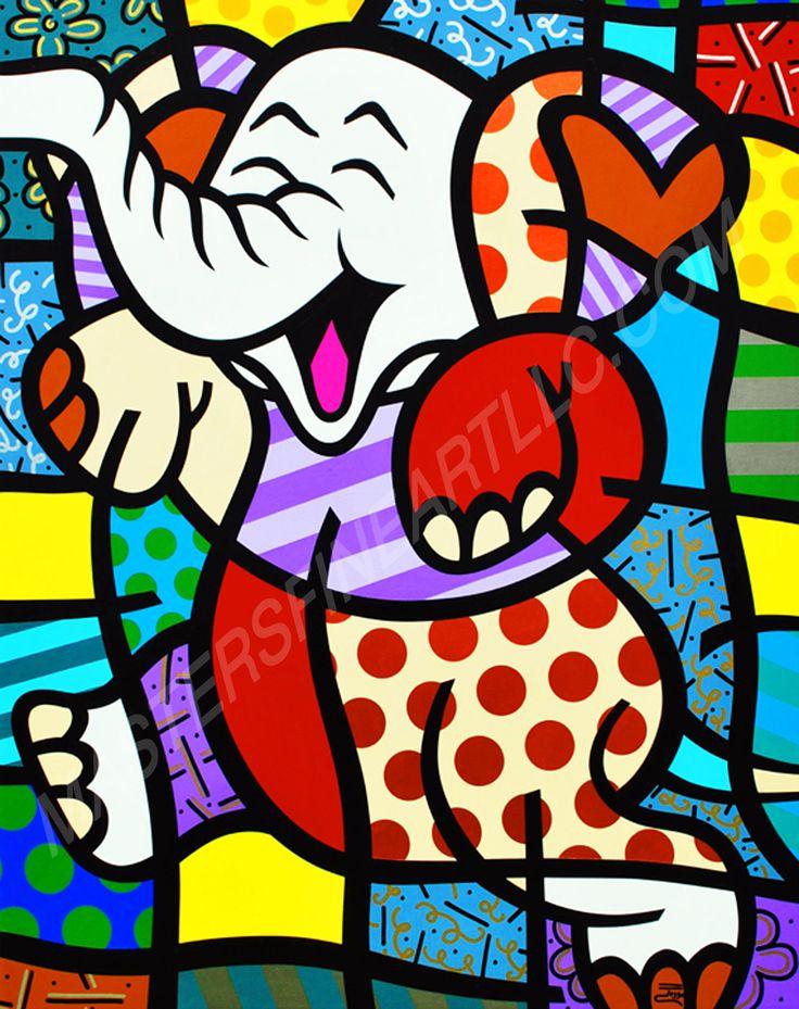 """""""Elephant"""" by Jozza http://mastersfineartllc.com/jozza.html"""