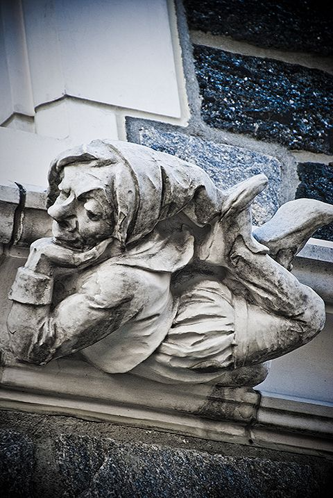 Gargoyles and Goth- City College of New York Campus