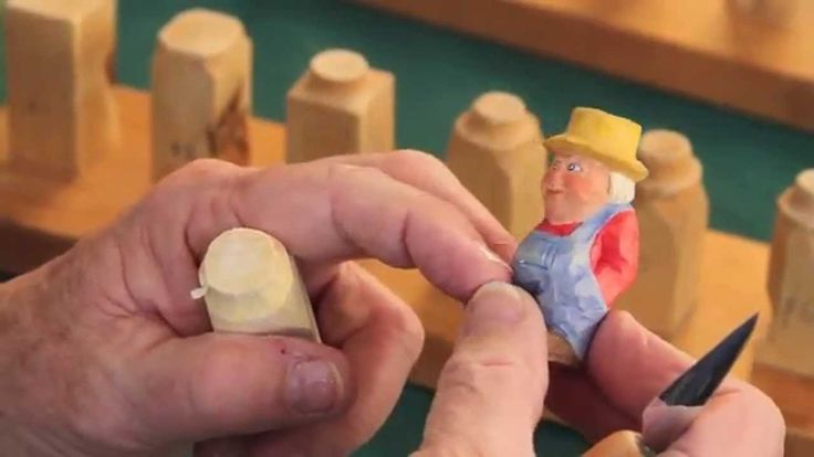 Step by Step How To Carve a Little Person Steps 1-4