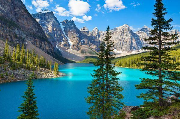 Les plus beaux lacs du Monde - Lac Moraine - Alberta - Canada