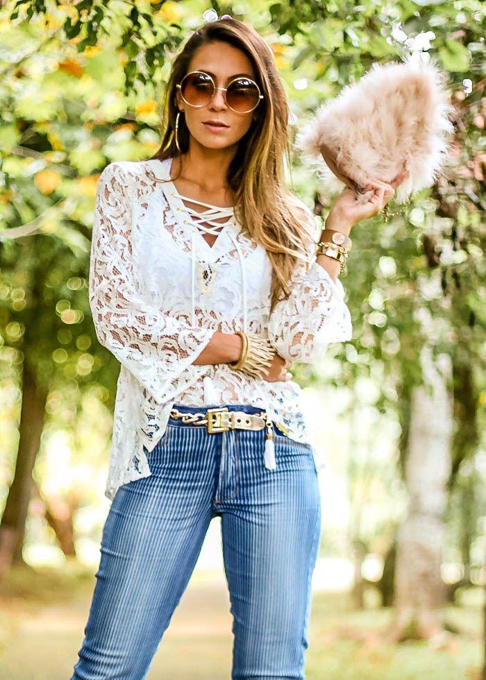 Meu look – Calça Jeans cintura alta | Blog de Moda e Look do dia - Decor e Salto Alto