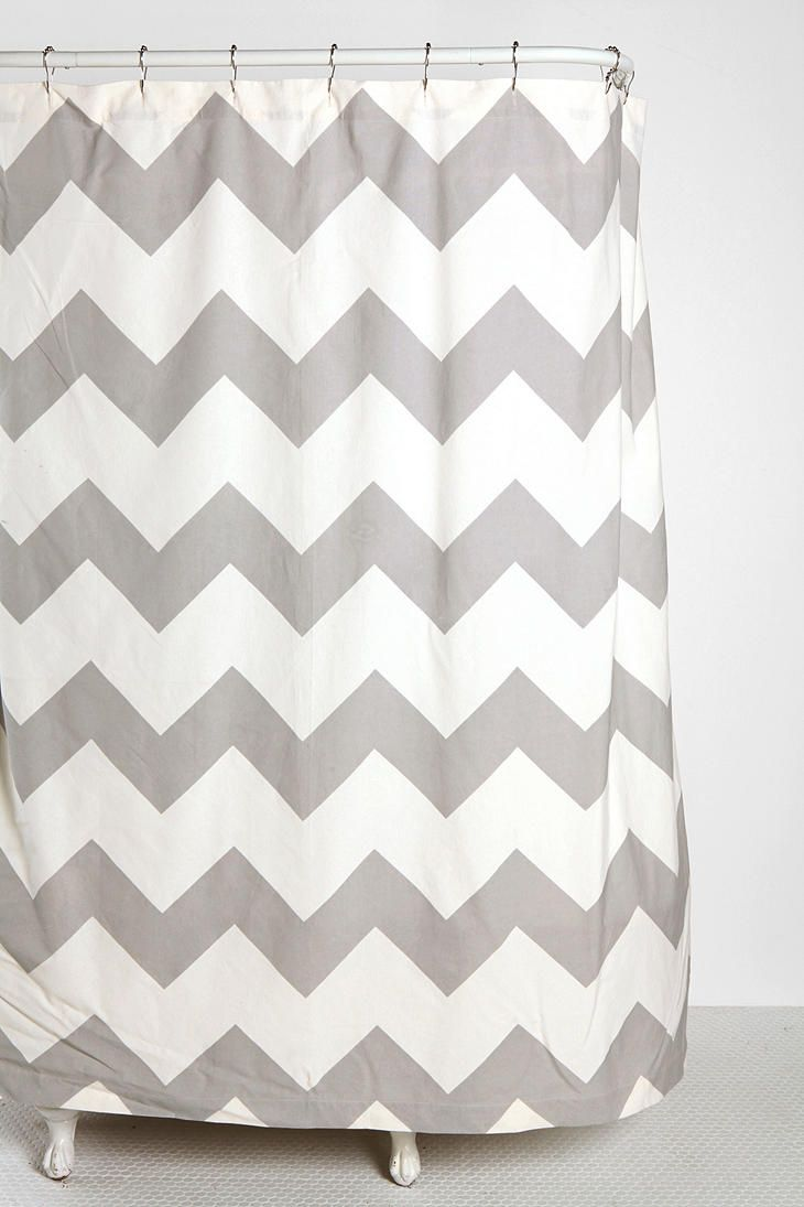 Zigzag Shower Curtain 4400