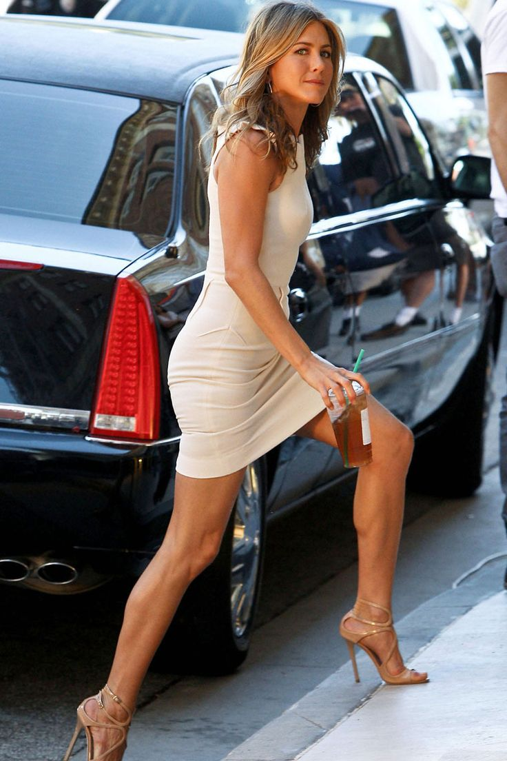 Jennifer Aniston...my style icon, plus who would not want that body!