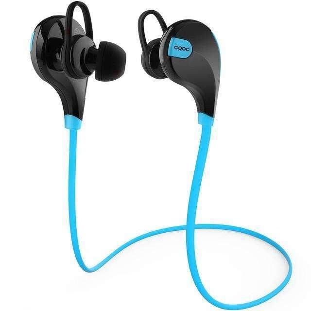 Crdc Bluetooth Earphone 4.1 Sports Wireless Headset Stereo Music Mini Ears Best Running Handsfree Earphones With Microphone
