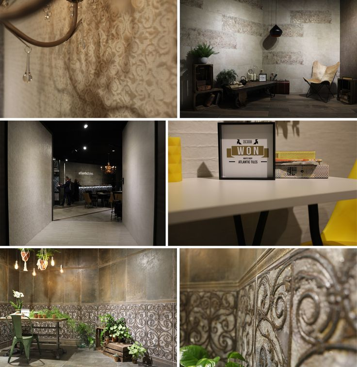 Atlantic Tiles looks well-prepared for this year's edition of Cevisama. Akira, Won and Damir show off the designer achievements while working with paper and fabric textures. Vilas is an imitation of precious fabrics themed on the popular Game of Thrones TV series. Serra is an elegant tile collection with effect of metal and decorative ironwork.