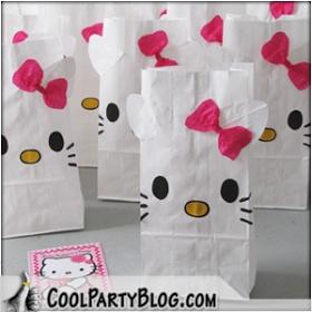 Leuke Lintjes: Traktatiezakjes à la Hello Kitty