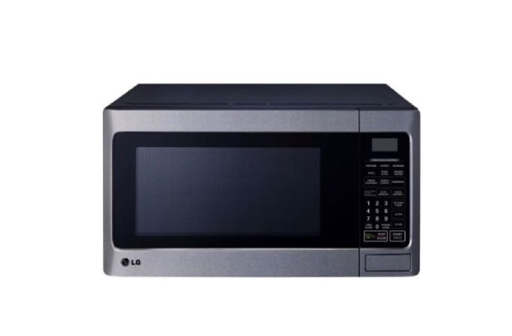 Stainless Steel Microwave Led Oven Countertop 1000 Watt