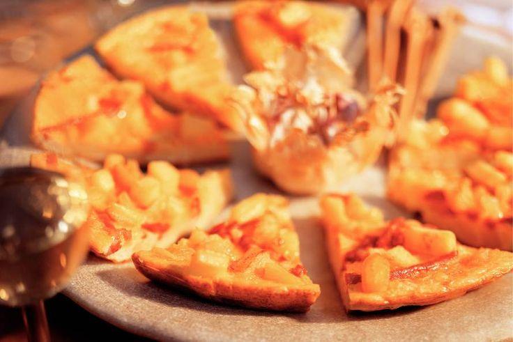 Kijk wat een lekker recept ik heb gevonden op Allerhande! Chorizo-aardappel-ui-tortilla