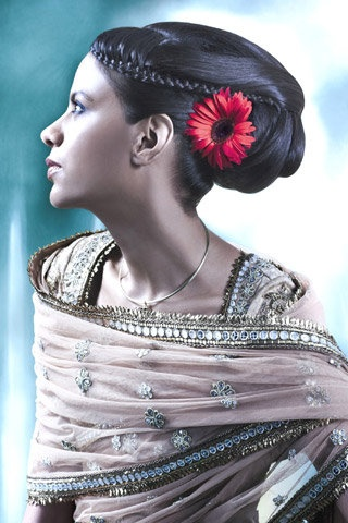 Indian Bridal hairstyles https://www.facebook.com/IndiaWithKrystal