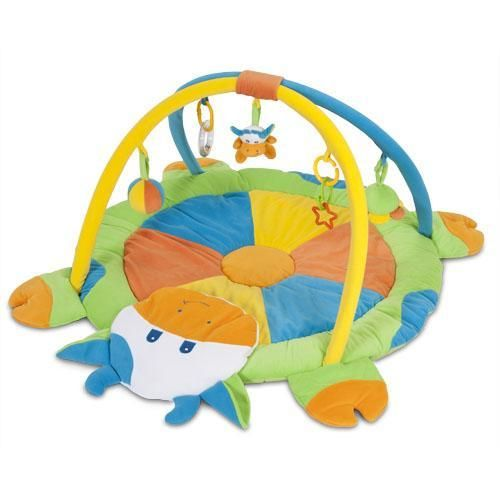 Alfombra Vaquita o Abejita — Enpañales.com.arCon sonajeros en el arco, espejos, y diferentes juguetes para que tu bebé se divierta jugando y aprendiendo.