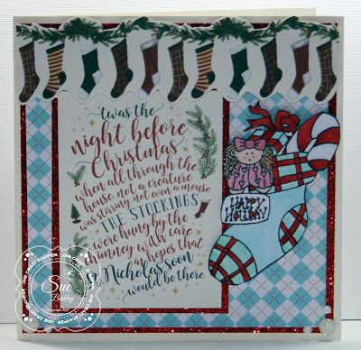 ONECRAZYSTAMPER.COM: 'Twas the night before Christmas by DT Sue using High Hopes Stamps