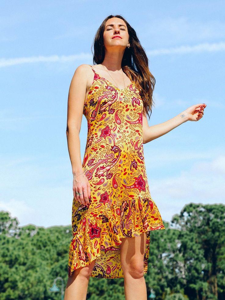 TAMGA Jasmine Slip-on Dress