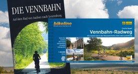 Vennbahn- fietsen over een oude spoorbaan van Aken naar Luxenburg.