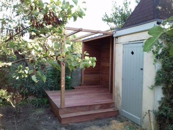 Terrasse bois avec plots reglables diverses - Terrasse sur plots reglables ...