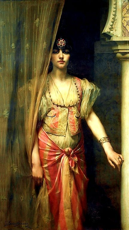 GASTON CASIMIR SAINT-PIERRE 1833 - 1916    Soudja Sari
