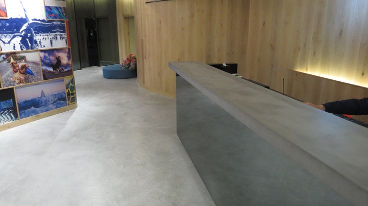 Concrete POS Counter for the QT Bondi