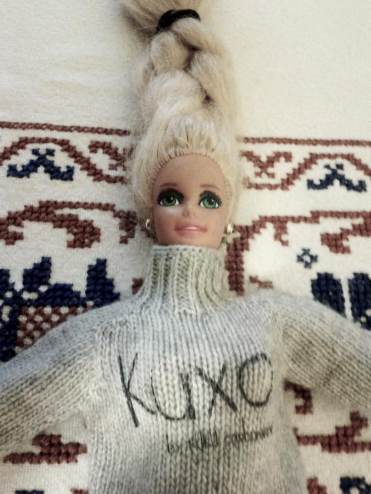 Barbie with her Kuxo' www.kuxo.it