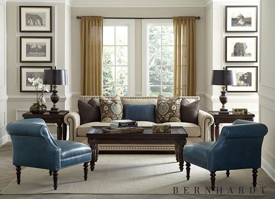 Make a luxurious statement in your living space with this Caroline  Collection from #havertys. - 24 Best Get Inspired By Havertys Furniture Images On Pinterest
