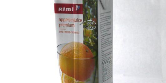 TEST: Appelsinjuice
