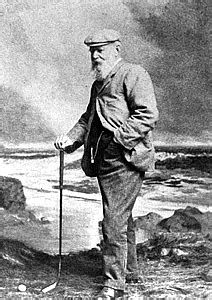 "Thomas Mitchell Morris, Sr. (16 June 1821 – 24 May 1908), otherwise known as Old Tom Morris, was a pioneer of professional golf. He was born in St Andrews, Fife, Scotland, the ""home of golf"" and location of the St Andrews Links and died there as well. His son was Tom Morris, Jr. (died 1875), best known as ""Young Tom Morris."""